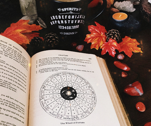 book, demons, and witch image
