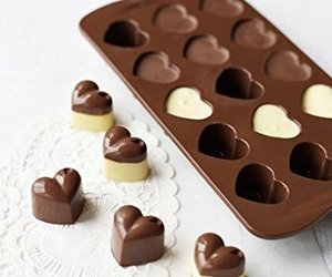 chocolate, cube, and heart image