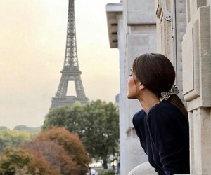 girl, paris, and style image