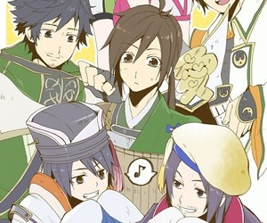 anime, jiang wei, and dynasty warriros image