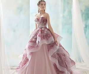bridal, dreamy, and gown image