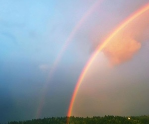 arco-iris, paradise, and rainbow image