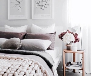 bedroom, white, and designs image