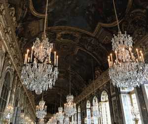 aesthetic, chandeliers, and classy image