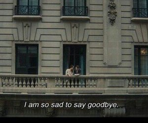 sad, quotes, and goodbye image