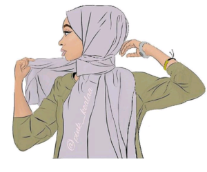 hijab, arab, and art image