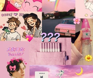pink, pony, and larry stylinson image