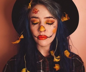 costume, fall, and Halloween image