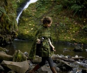 adventure, autumn, and green image