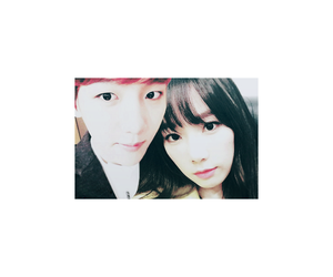 couple, exo, and snsd image