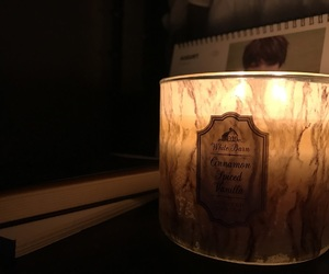 candle, light, and marble image