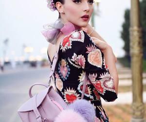 fashion, pastel, and pinup image