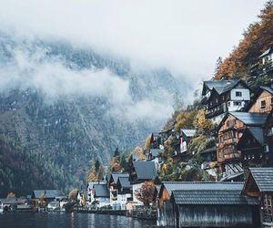 city, lake, and nature image