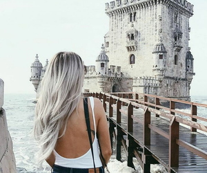 famous, travel, and lisbon image