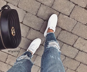 bag, bags, and clothes image