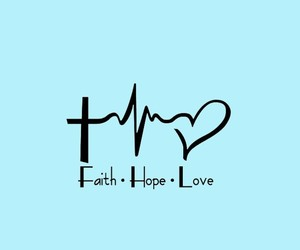 blessed, hope, and love image