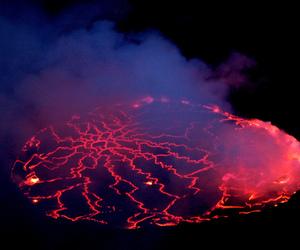 nature, volcano, and goma image