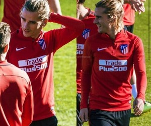 antoine griezmann, football, and atletico madrid image