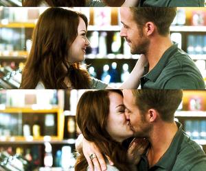 ryan gosling, emma and ryan, and relationship goal image