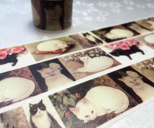 cat card, i love cat, and cat sticker image