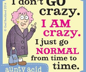 crazy, funny, and normal image