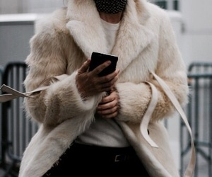 fashion, fur, and indie image