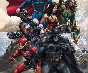 batman, DC, and superman image