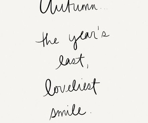autumn, quotes, and smile image