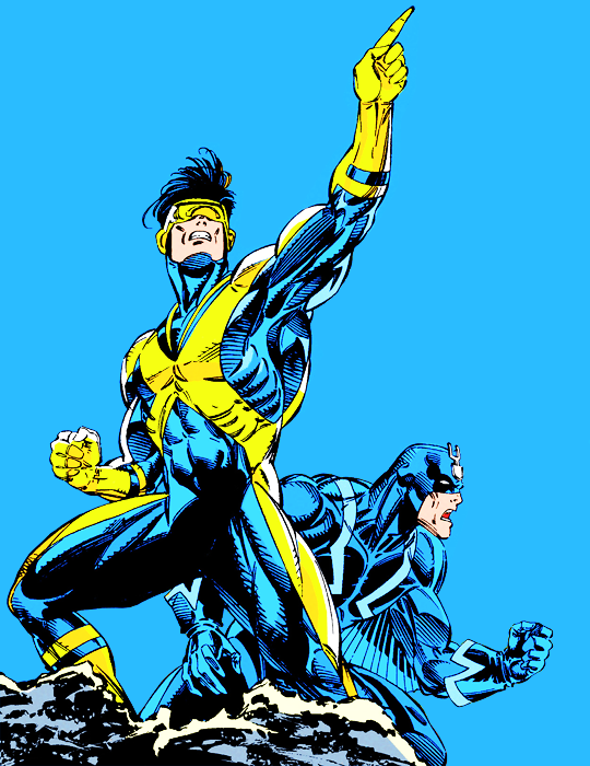 cyclops, Marvel, and black bolt image