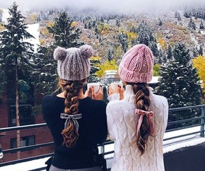 friendship, girl, and inspiration image