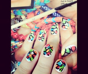 fierce, nailpolish, and nails image
