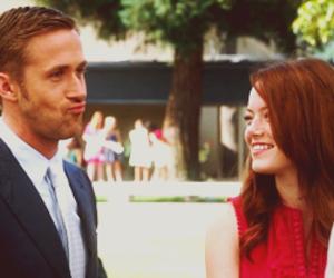 emma stone, perfect couple, and ryan gosling image