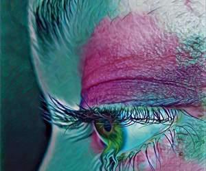 colores, estética, and neon image