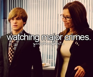 girly thoughts and major crimes image
