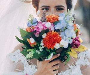 bouquet, flowers, and photo image