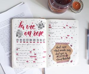 study, tumblr, and bujo image