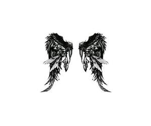 angels, beautiful, and minimalist image