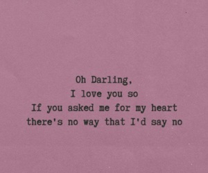 darling, dear, and pink image