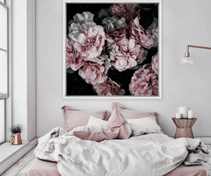 bed, bedroom, and bedroom decoration image