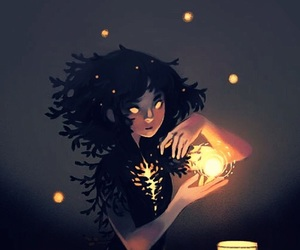 light, drawing, and wallpaper image