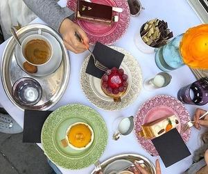 fancy, food, and tea image