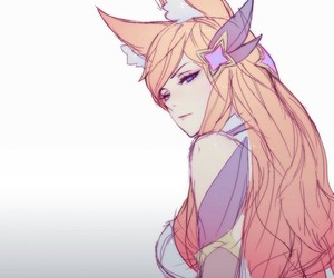 league of legends and star guardian ahri image