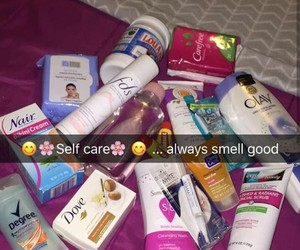 products, hygiene, and self care image