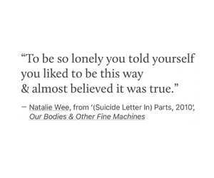 lonely, alone, and broken image