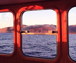 red, indie, and sea image