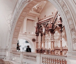 architecture, rose gold, and aesthetic image