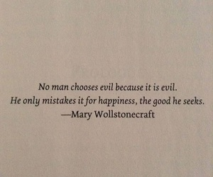 evil, good, and quote image