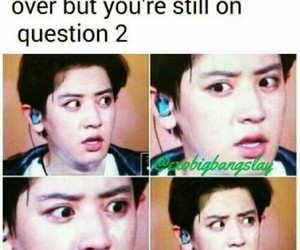 exo, funny, and kpop memes image