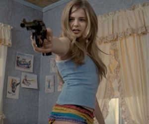 gun, hick, and chloe grace moretz image