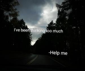 ride, help me, and sad image